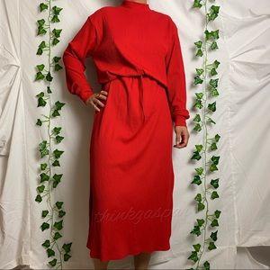ZARA Long Sleeves Mock Neck Dress